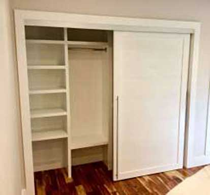 Custom Closet and Closet Doors buillt by SoCal Carpentry in San Diego