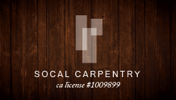 SoCal Carpentry - Carpenter San Diego